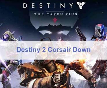 Destiny 2 Corsair Down