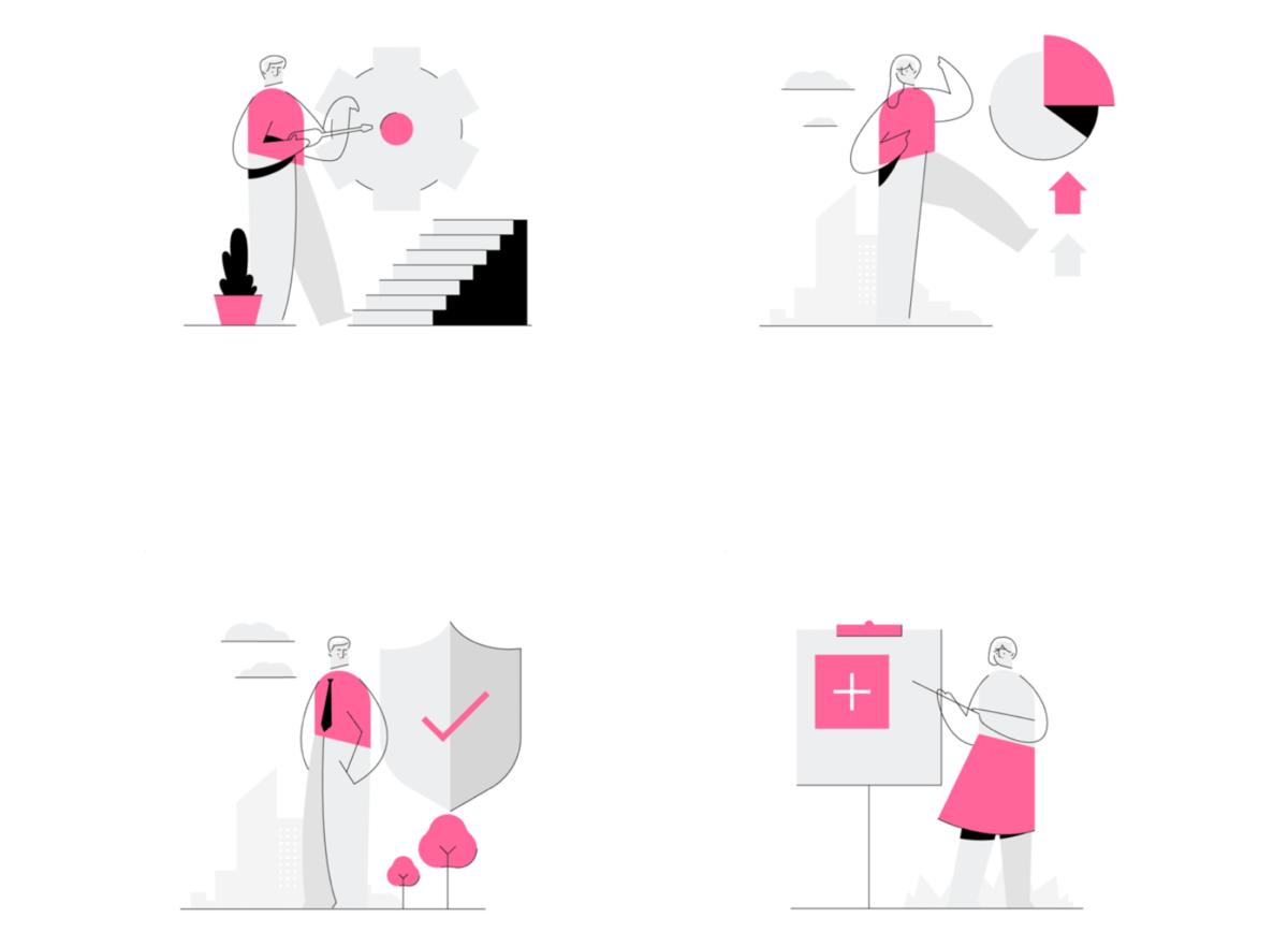 Ghost illustrations