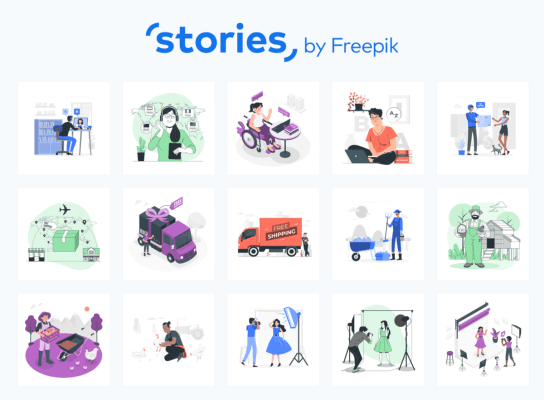 Stories by freepik