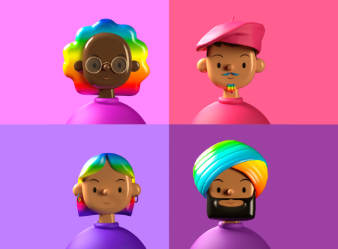 Toy Faces 3D Avatar Library