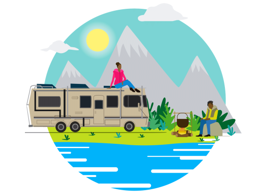 The Great Outdoors Illustration Pack