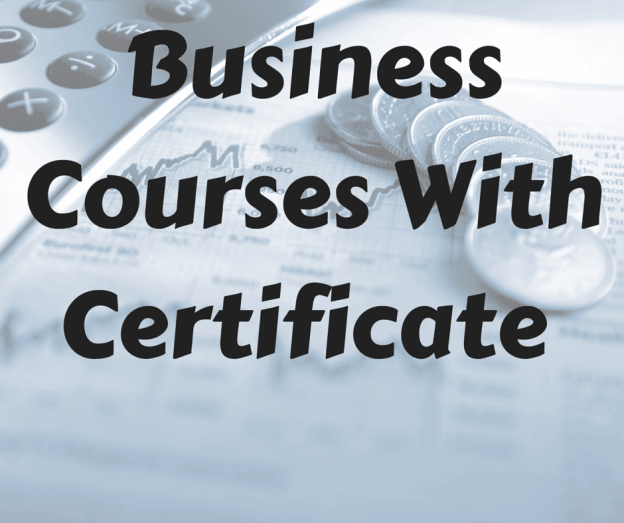 Free Online Business Courses With Certificates