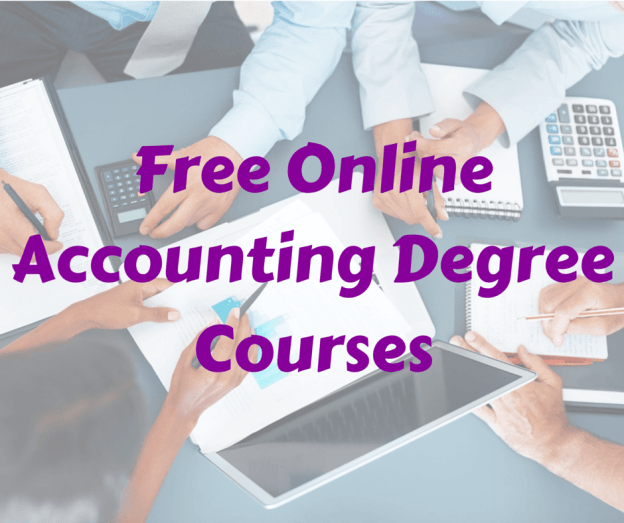Free Online Accounting Degree Courses