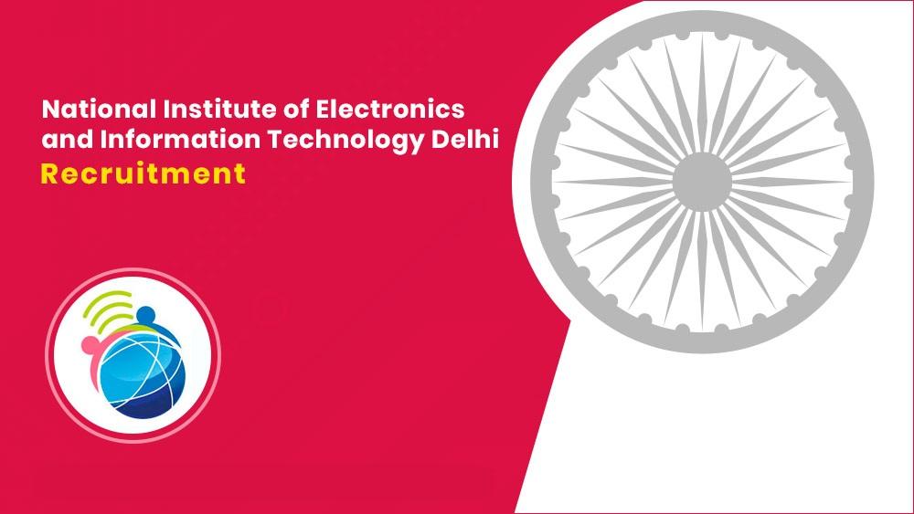 NIELIT Delhi Recruitment 2021 Free job search
