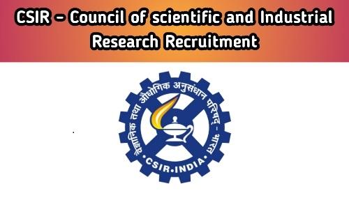 CSIR CCMB Technician Recruitment 2021 Free Job Search
