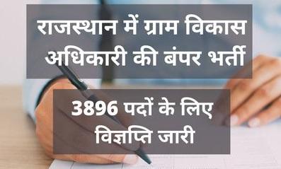 Rajasthan Computer Vacancy Free job search 2021