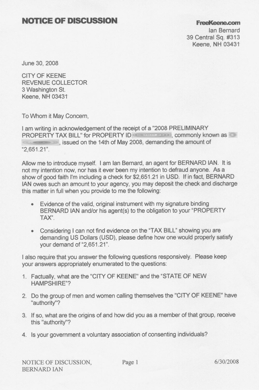 Child Custody Agreement Letter Sample Template
