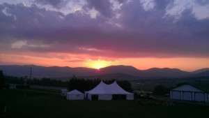 Porcfest Sunrise
