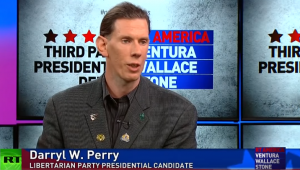 Darryl W Perry in RT's 2016 Libertarian Presidential Debate