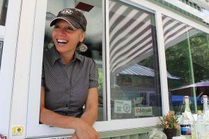 Isabelle Rose, owner Bon Vivant - Gourmet Street Food