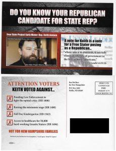 Keith Ammon Hitpiece Flyer