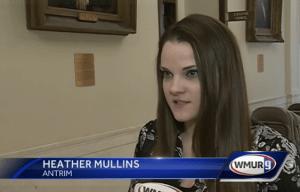 Heather Mullins on WMUR-TV's Cannabis Hearings Coverage