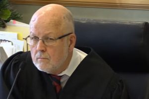 Judge James M Carroll of Laconia District Court