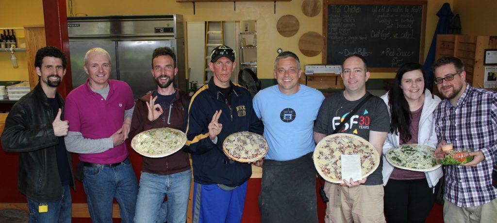 Keene-area Bitcoiners Visit Little Zoe's Pizza!