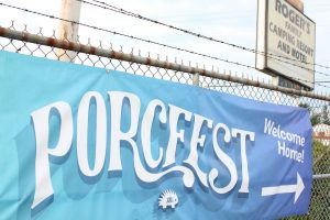 Porcfest Barbed Wire