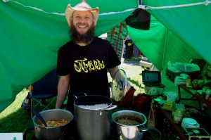 Will Coley Conducting his Ramadan Dawah at Porcfest