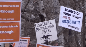 Libertarians Crash Gun Control Rally