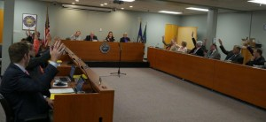 Keene City Council Voting for Prohibition - Photo by Vincent Freeman
