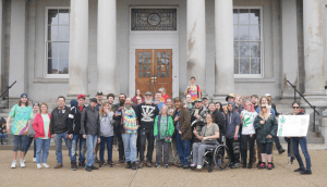 Hardcore civil disobedient activists who came out in the rain for 4/20/2019!