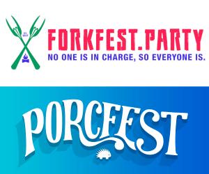 Forkfest Sponsors Porcfest!