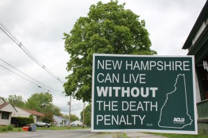ACLU Sign to End Death Penalty in NH