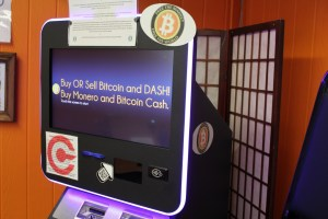 Cryptocurrency Vending Machine at Bitcoin Embassy NH