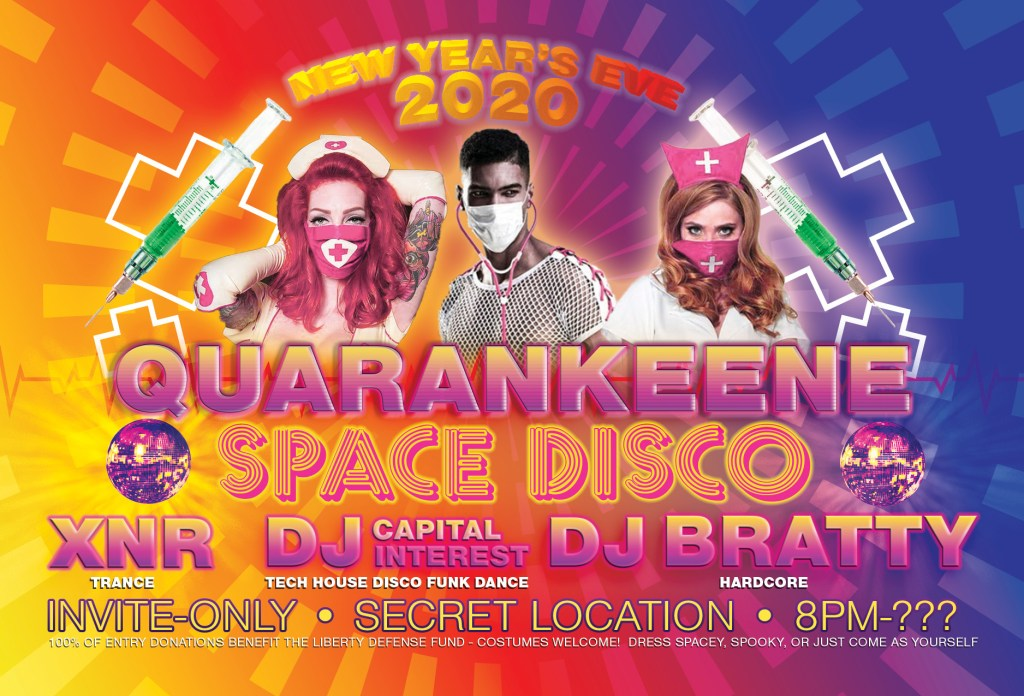 QUARANKEENE Space Disco 2020