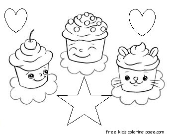 Awesome Coloring Sheet : printable birthday cake coloring