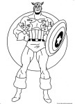 captain america super hero coloring pages for kids to print