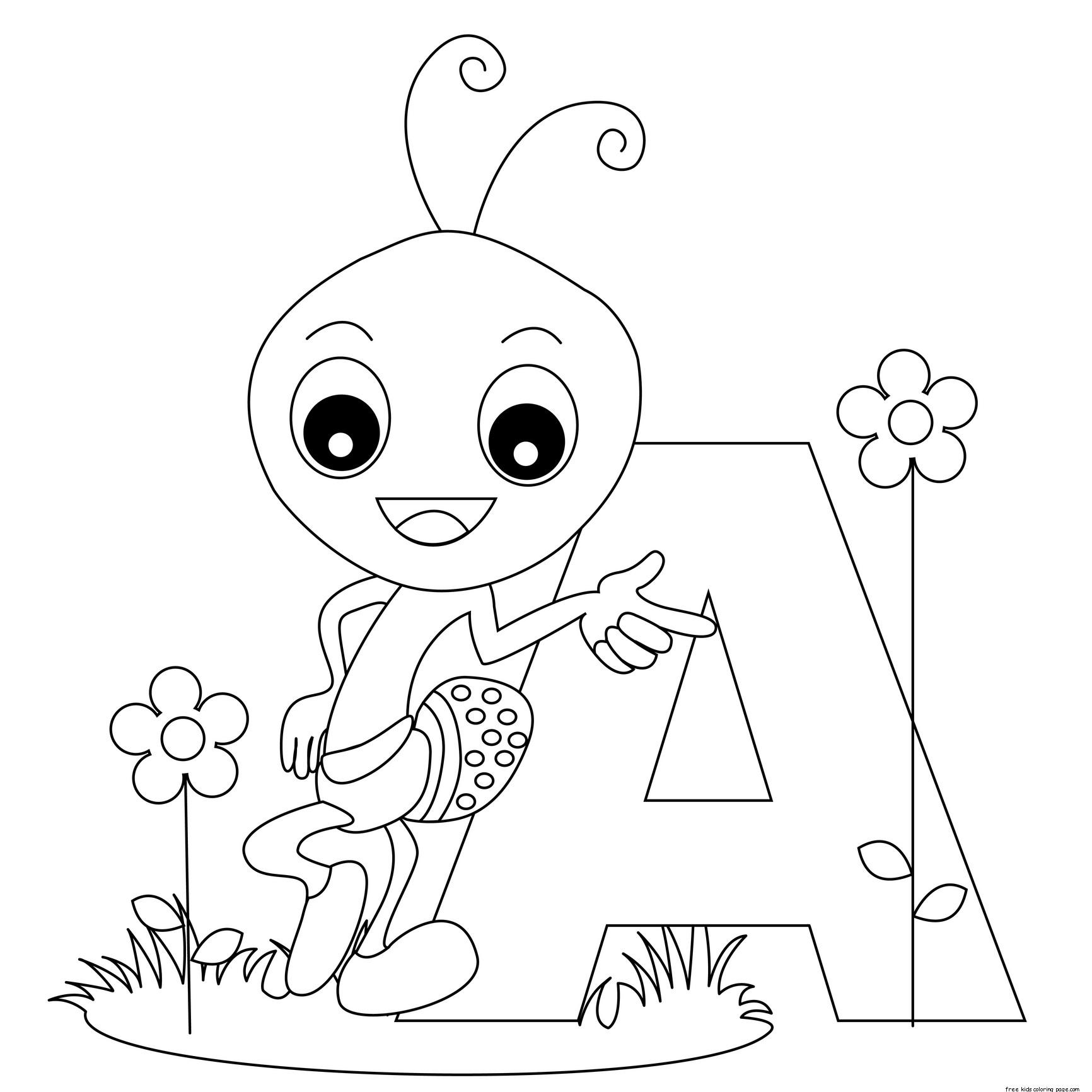 Free Alphabet Letter Formation Worksheets For Kidsfree