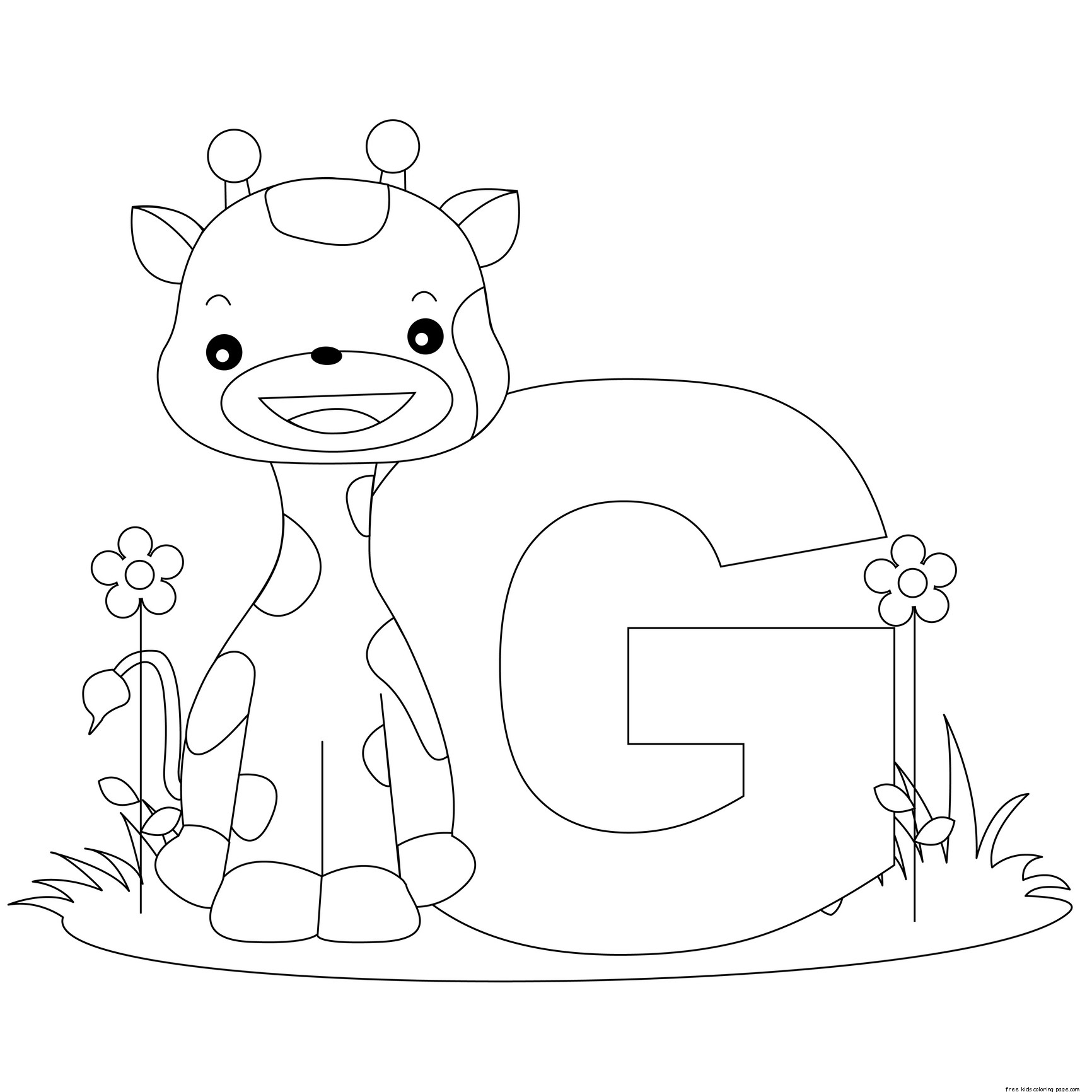 Alphabet Letter G For Preschool Activities Worksheetsfree Printable Coloring Pages For Kids