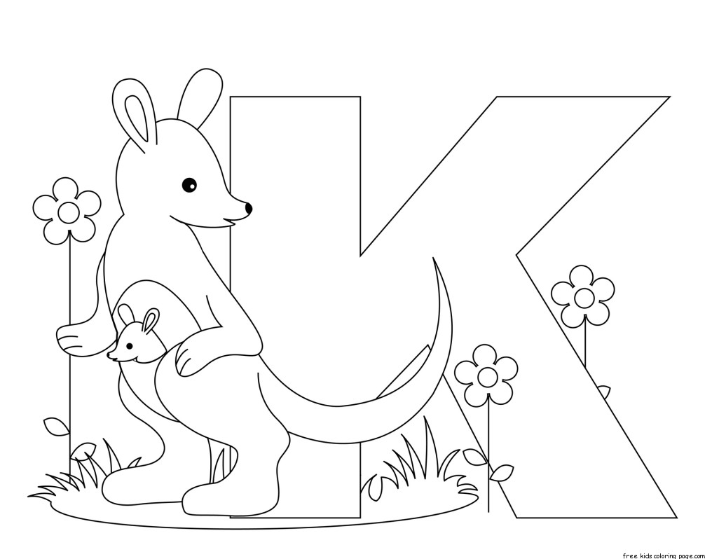 Preschool Counting Kangaroos Worksheet