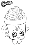 print out shopkins freda frosting coloring in pages for kids
