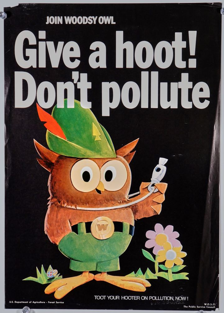 Give a Hoot, Don't Pollute!