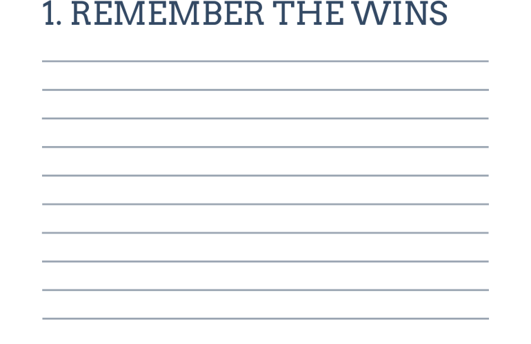 Remember the wins list