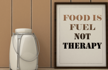 Food is Fuel Not Therapy