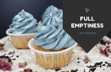 Full Emptiness with cupcakes