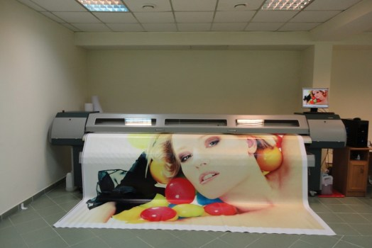Large format printing: what is it, types and advantages