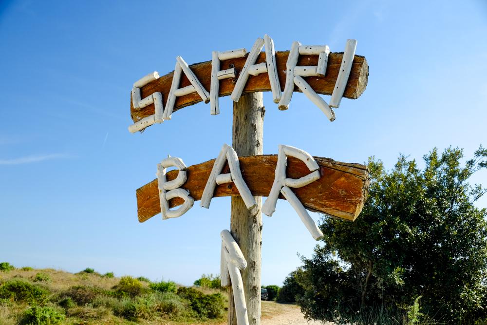 Safari Bar Sign