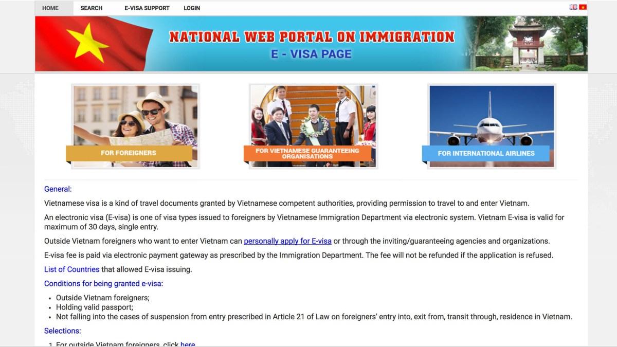 Vietnam's New E-Visa System