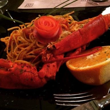 Lobster at Enoteca Barberini