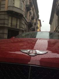 Red Bentley in Lugano