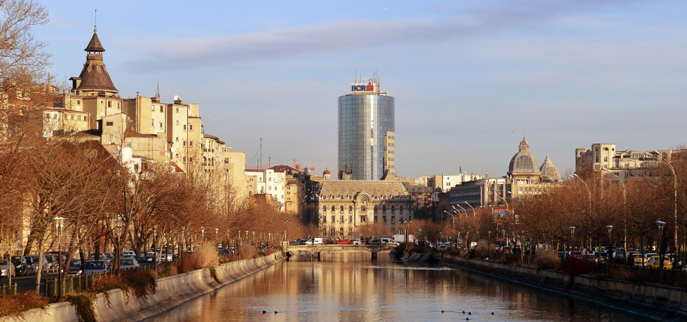 Dambovita River at Bucharest