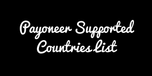 Payoneer Countries