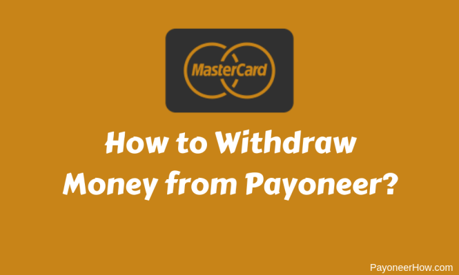 How to Withdraw Money From Payoneer