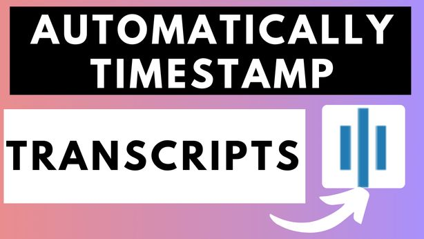 How to automatically add timestamps to transcripts using Sonix.ai