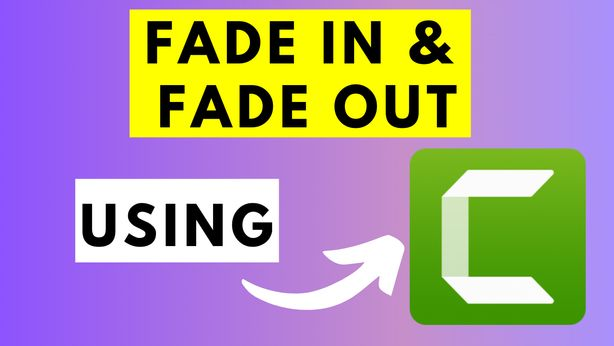 how to Fade in and Fade Out Audio in Camtasia