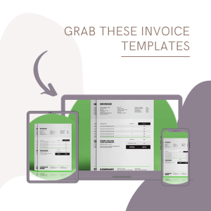 invoice templates for freelance contract