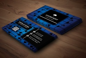 Electronic Business Card Design
