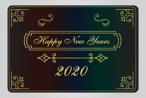 Happy New Years 2020 Design Free Download